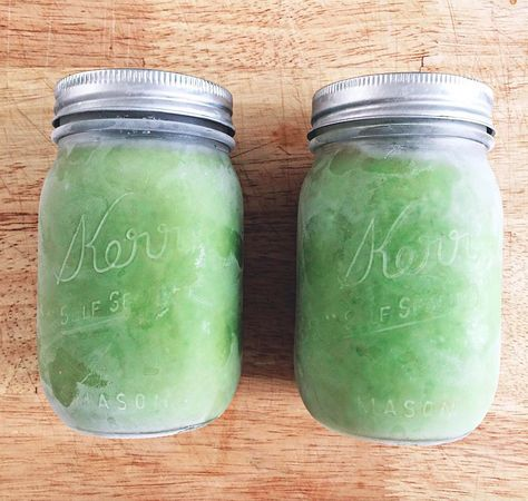 Coconut, Fruit, and Greens Smoothie  Serves 1 Recipe by Natalie Brown INGREDIENTS 3/4 cup coconut milk  1 cup mixed kale and rainbow chard 1 banana  1 cup pineapple  1/4 cup frozen mango  1 tablespoon almond butter  1 teaspoon vanilla extract PREPARATION Combine all ingredients in the blender, and blend until smooth.