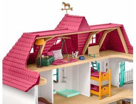 Schleich Large Horse Stable With House 42416 119 99 Old Country Houses Stables Horse Stables