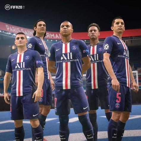 """Paris Saint-Germain on Instagram: """"🎮⚽ @easportsfifa . 🔥 Our new kit in #FIFA20 🔥 Retrouvez le nouveau maillot dans la prochaine édition de #FIFA20 . #ICICESTPARIS #AllezParis…"""""""