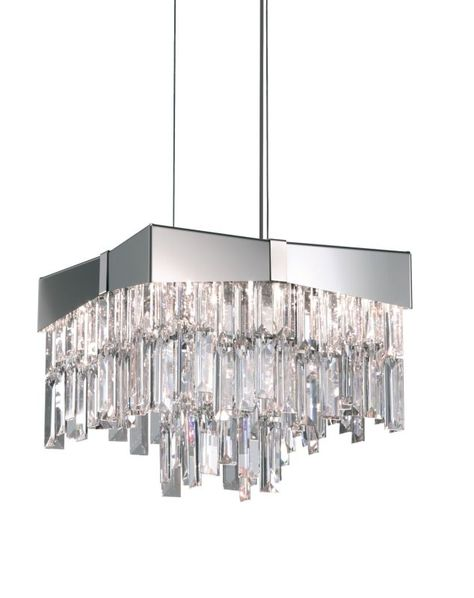 Schonbek Rf2410 12 Wide 4 Light Pendant From The Riviera Collection Stainless Crystal Pendant Lighting Chandelier Pendant Lights Unique Chandeliers