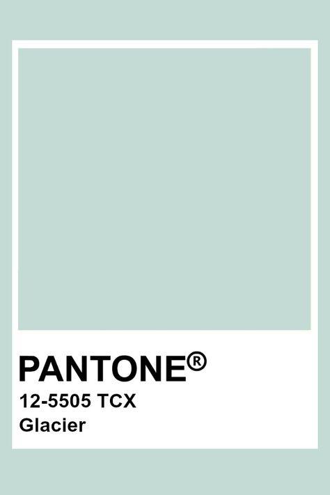 Pantone Glacier