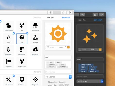 A new version of IconJar is around the corner