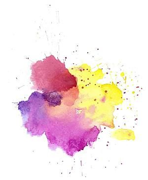 Color Splash Of Ink And Ink And Graffiti Png Element Watercolor