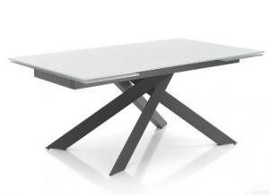 Table 90x160 Extension 240 Tomasucci Glass Table Table Folding Table
