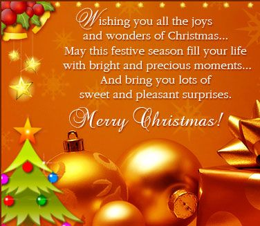 Merry Christmas Greeting Messages - Merry Christmas and New Year - christmas greetings sample