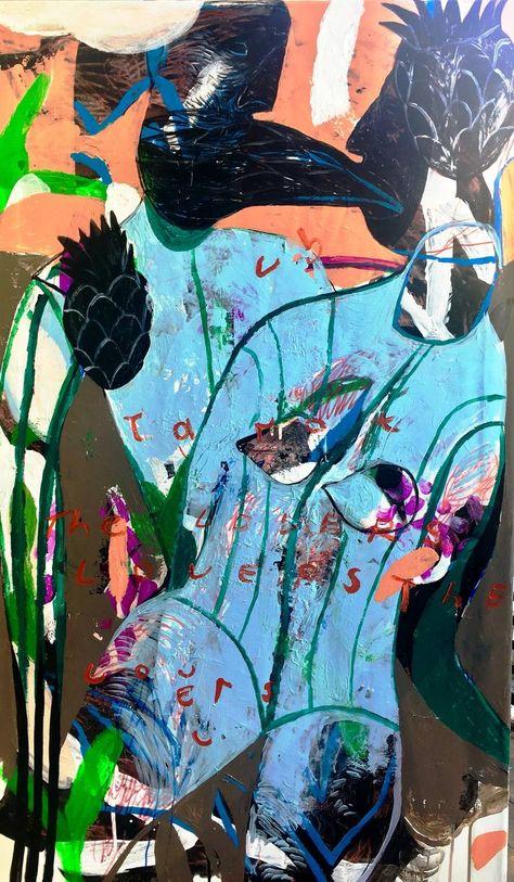 The Lovers/Tarot Painting by Rusudan Khizanishvili   Saatchi Art