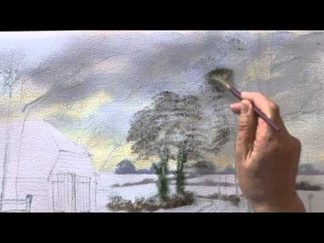 Watercolour Landscapes The Easy Way Two Part One Youtube