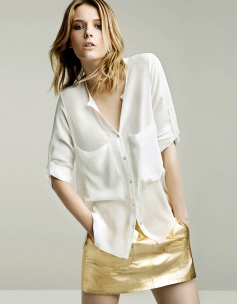 Zara Women's Wear May 2011 Look Book