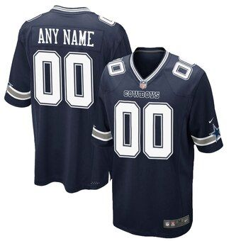 Fragante barba Tubería  Men's Dallas Cowboys Nike Navy Customized Game Jersey | Dallas cowboys, Nike  nfl, Custom jerseys