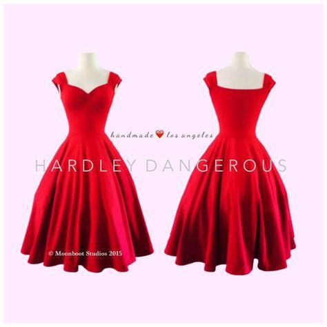 The CHERRYBOMB Dress in Lipstic Red 8b014c5bd31