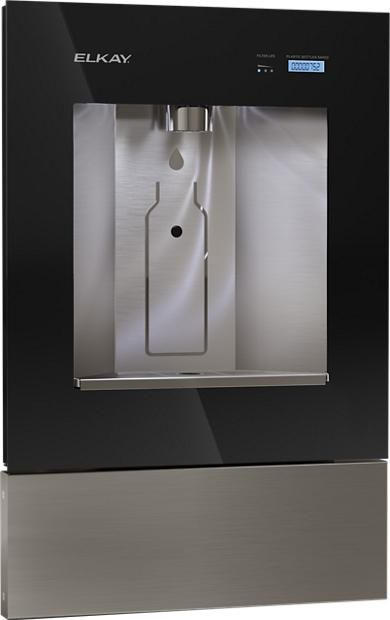 Elkay Ezh2o Liv Built In Filtered Water Dispenser Non Refrigerated Midnight Filtered Water Dispenser Elkay Water Filter