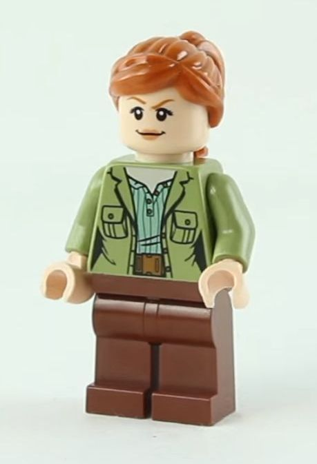LEGO® Jurassic World Fallen Kingdom Baby Brown And Green Raptors small