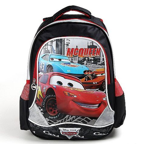 Car Mcqueen Backpack Schoolbag Child Cartoon 171 Clothing