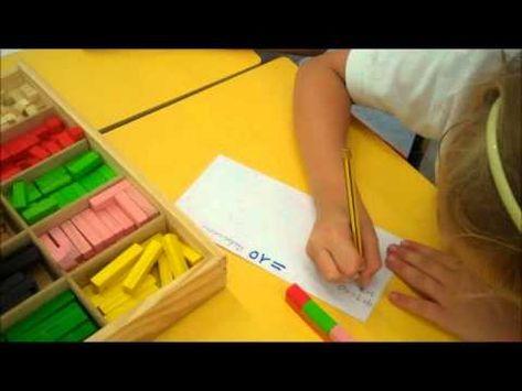 ▶ Descomposición del 10 en 1º de Educ Primaria, Parte I.wmv - YouTube