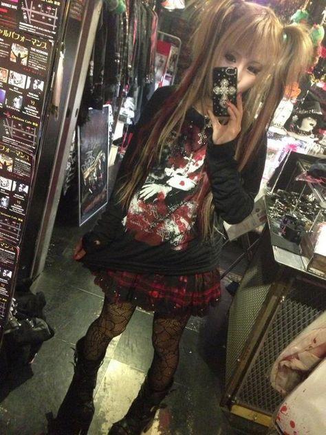 Edgy Outfits, Grunge Outfits, Pretty Outfits, Cute Outfits, Harajuku Fashion, Japan Fashion, Gyaru Fashion, Kawaii Fashion, Alternative Outfits