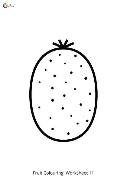 Free Downloadable Fruits Worksheet For Kids Ira Parenting In 2020 Worksheets For Kids Worksheets Color Worksheets
