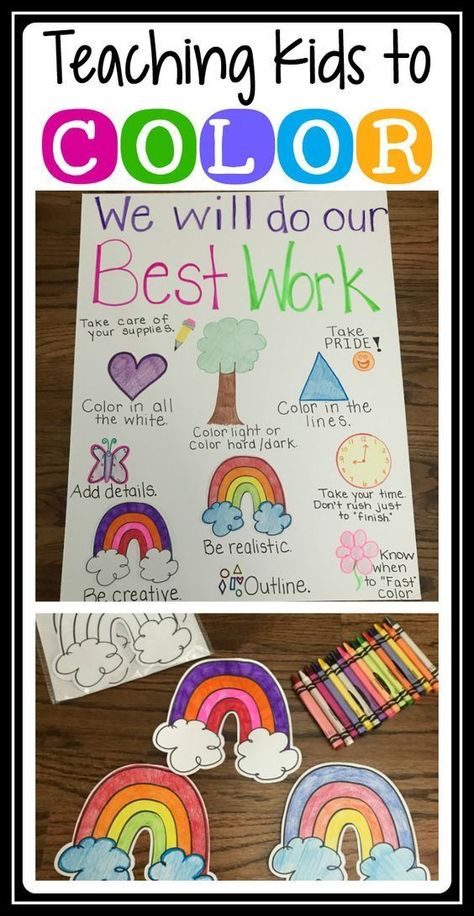 Teaching Students to Color?