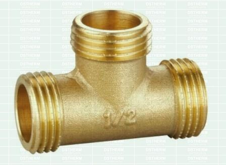 Equal Male Threaded Tee Plumbing Fittings In 2020 Brass Faucet Brass Fittings Gate Valve