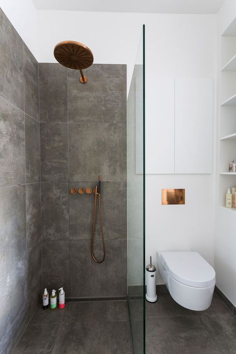 Bathroom Wisdom Slate grey bathroom tiles Slate grey bathroom - ideen für badezimmer fliesen