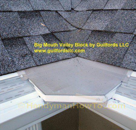 Big Mouth Valley Block By Guilford Llc Gutter Guard Gutters Diy Gutters