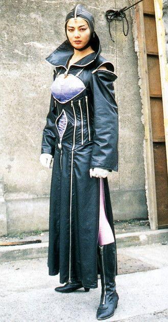 ガラ中佐 演 天祭揚子 in 五星戦隊ダイレンジャー 1993年 1994年 モデルフォト 女性戦士 レンジャー