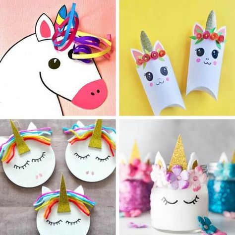 60 Gorgeous & Easy Unicorn Crafts For Kids