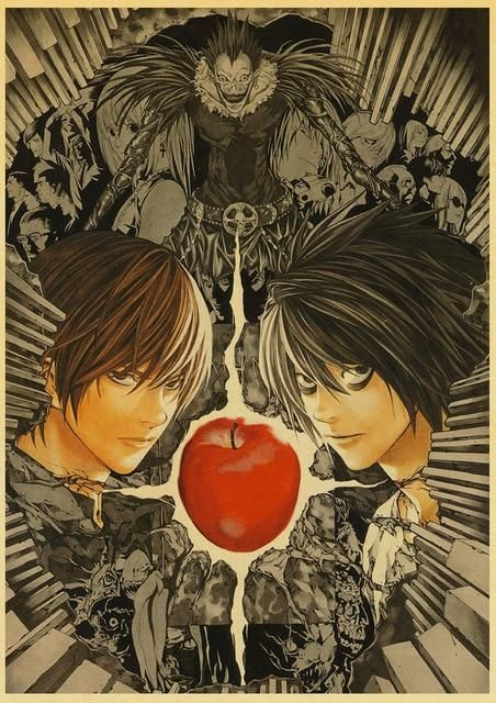 Death Note Posters Retro Posters - Q027 20