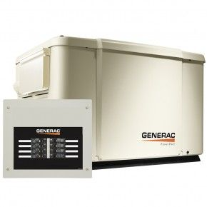 Electric Generator Depot Generac 6998 7 5kw Powerpact Home Standby Back Up Power Generator Transfer Switch Diy Generator Power Generator