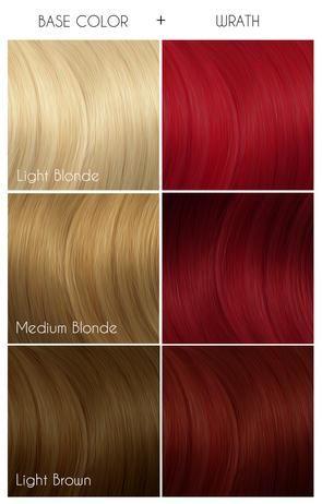 Wrath Hair Dye Colors Arctic Fox Hair Color Hair Color