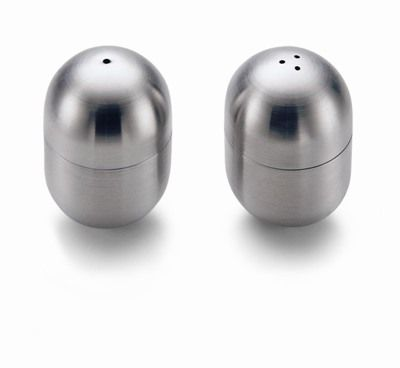 Stainless Steel 2 pieces Anna New York by RabLabs Amare Salt and Pepper Set ANNA by RabLabs