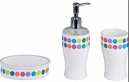 Bathroom Accessories With Polka Dots Bathroom Accessories Sets