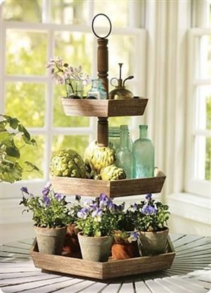 Wood Tiered Display Stand Wood Tiered Stand Tiered Stand Tiered Tray