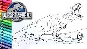 نتيجة بحث الصور عن تلوين ديناصور Coloring Pages Jurassic World