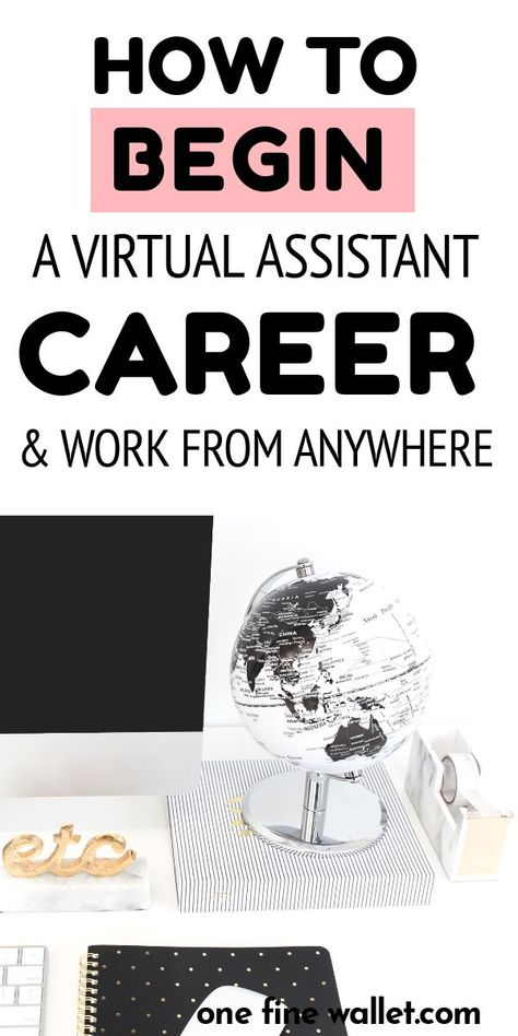 How to Become a Virtual Assistant with No Experience - $35-50/Hr