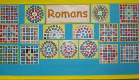 Classroom Display Ideas Roman Mosaic Roman Mosaic Art Mosaic