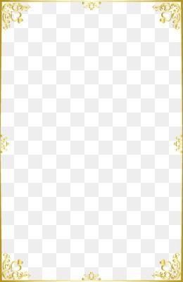 Moldura Png Images Vetores E Arquivos Psd Download Gratis Em Pngtree Gold Border Design Page Borders Design Clip Art Borders