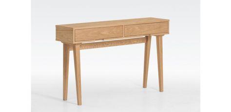 Table d/'appoint Plateau de Table 2er Gris chêne bois massif retro design tischset Table