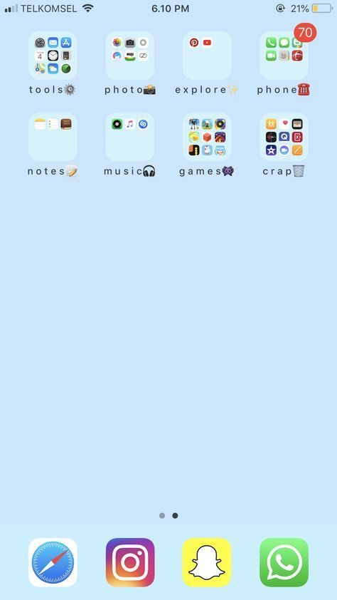 Trendy Home Screen Iphone Layout 30 Ideas In 2020 Iphone Layout