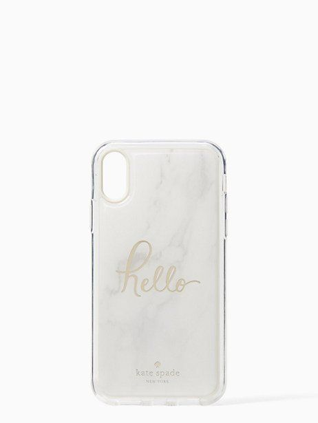 low priced c74aa 711f3 Kate Spade Marble Hands Free Iphone Xr Case | Products in 2019 ...