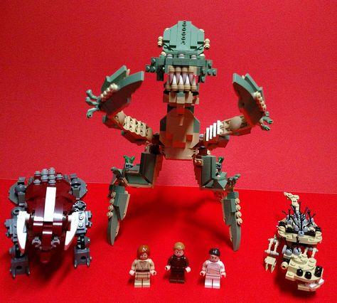 Geonosian Arena Combatants Lego Star Wars Mocs Lego Creations