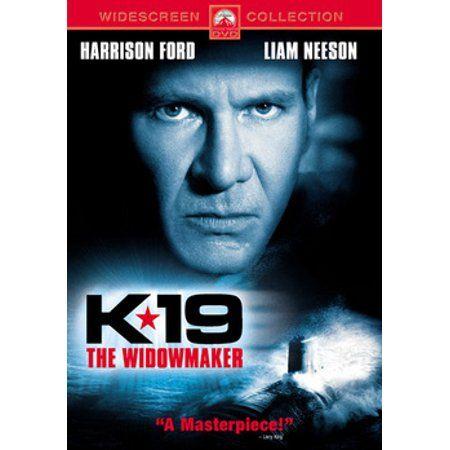 K 19 The Widowmaker Dvd Liam Neeson Harrison Ford Widowmaker