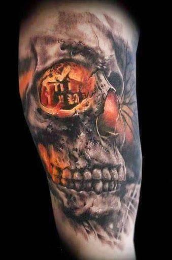 Id 233 Es Et Inspiration De Mod 232 Le Tatouage De T 234 Te De Mort 1 Tatouage Tatouages De Cranes Modele Tatouage