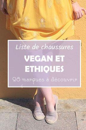 Chaussures vegan et éthiques : ma sélection de 28 marques