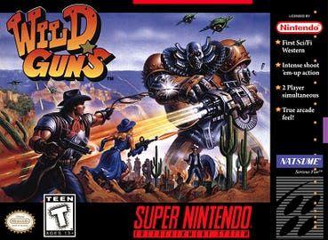 Wild Guns Reproduction Region Free SNES