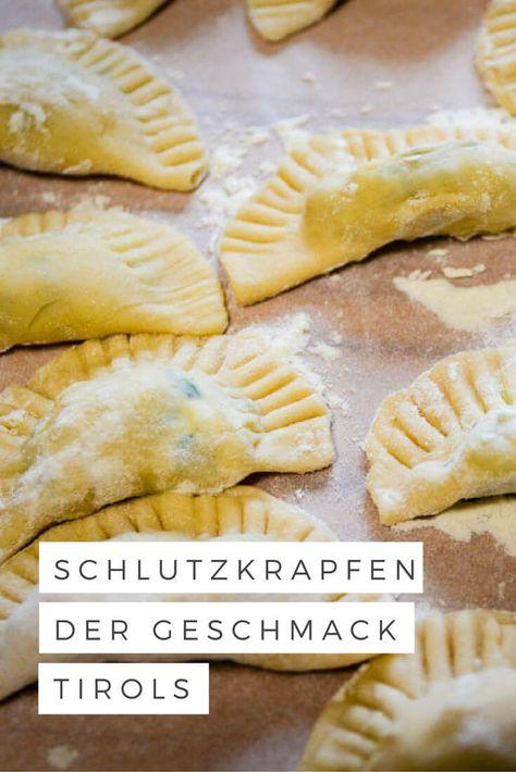 Viel Liebe, viel Butter: Tiroler Schlutzkrapfen selber