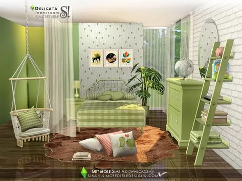 Delicata teens - The Sims 4 Download - SimsDom   Sims 4 bedrooms