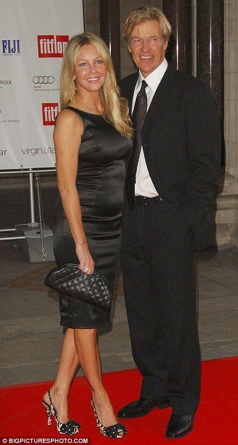 Split: Jack's ex-fiance Heather Locklear announced their split last week