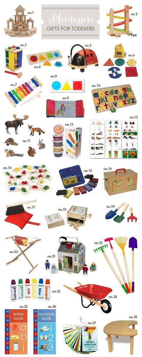 Montessori-Geschenke für Kleinkinder