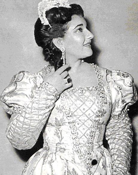 Maria Callas I Puritani Firenze 1952 Maria Callas Maria Sopranos