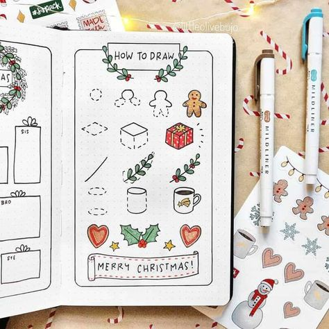Photo of 67+ Cutie Little Christmas Bullet Journal Ideas